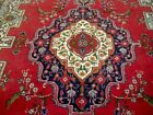 8X11 1940s GORGEOUS AUTHENTIC HAND KNOTTED 70+YRS ANTQ WOOL TABRIZ PERSIAN RUG