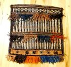 Vintage Kurdish Saddle Bag Handmade Wool Rug Double Sided Pattern 21