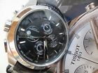 Clean S/S Men's Tissot 1853 T Classic Couturier Chronograph Watch Swiss Quartz