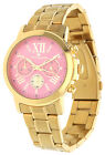 Tom Tailor Women Watch Chronograph gold 5416404