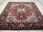 8X10 BRAND NEW BREATHTAKING HAND KNOTTED WOOL PERSIAN SERAPI DESIGN ORIENTAL RUG