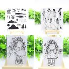 Transparent Clear Silicone Stamp Seal for DIY Scrapbooking Album Photo Decor