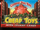 1986 GARBAGE PAIL KIDS BOX OF 26 BAGS OF CHEAP TOYS WITH CRUMMY CANDY,TOPPS!!!!!