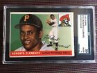 1955 TOPPS #164 ROBERTO CLEMENTE PITTSBURGH PIRATES ROOKIE CARD SGC VG EX 4 50