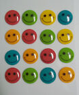 Smiley Faces 16 Pcs Dimensional Stickers Jolees Boutique Free Shipping NIP