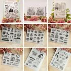 DIY Transparent Silicone Rubber Clear Stamps Scrapbooking Decor Embossing Craft