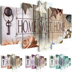 Home Sweet Home Unframed HD Canvas Prints Wall Art Painting Picture Poster Decor