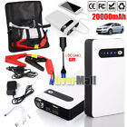 20000mah Portable Car Jump Starter Power Bank Vehicle Battery Booster Charger Us
