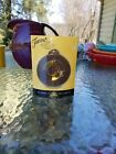 FIESTA CHRISTMAS ORNAMENT hlcca MEMBER EXCLUSIVE chocolate brown 1ST 2013 nib