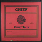 DEWEY TERRY Chief LP drill hole inner pages tear at cover opening