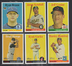 2006 2007 2008 Topps Heritage SP Short Prints Lot You Pick Your Choice