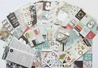 SIMPLE STORIES WINTER WONDERLAND 12x12 Paper  Embellishment Set A Save 55