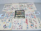 Nystamps Bolivia Colombia old stamp collection stock page with better