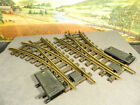G Scale Lehmann LGB ONE PAIR SWITCHES TURNOUTS No 1210 1200 with No 1201