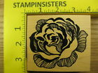 Rubber Stamp PSX Home Decor Rose Flower Blossom K1786 Stampinsisters 1784