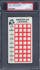 1967 Topps Punch Outs Mike Hershberger PSA 3 Kansas City Athletics