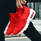 Fashion Men Sneaker Running Casual Mesh Breathable Sports Trainers Male Shoes