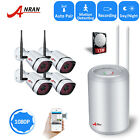 ANRAN Wireless Security Camera Home Network System Outdoor 8CH 1080P NVR Kit 1TB