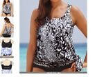 dew drops SWIMSUITS FOR ALL blouson swimsuit swim tankini TOP 16 print t5