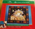 NEW IN BOX KURT S ADLER MAGNETIC NATIVITY ADVENT CALENDAR WOOD