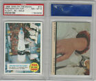 1970 Topps, Man On The Moon, Re -Issue, #14 Preparation, PSA 8 NMMT