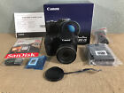 Brand New Canon PowerShot SX430 IS Digital Camera and 16GB SD Card Bundle