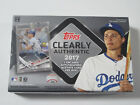 2017 TOPPS CLEARLY AUTHENTIC BASEBALL HOBBY BOX rookie auto RARE