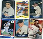 Lot of 50+ Baseball HALL OF FAME All Different Cards of Cooperstown MLB HOFers