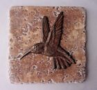 Hummingbird tile mold plaster cement bird travertine casting mould