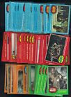 1977 TOPPS STAR WARS SERIES 1-5 LOT W STICKERS 145 CARDS 11 STICKERS