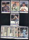 1984 FLEER UPDATE SET 1-132 CLEMENS PUCKETT GOODEN ROSE SABERHAGEN