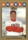 2008 Topps Gold  /2008 #423 Mike Scioscia-Manager ANGELS /2008 R44385