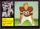 1962 Topps Football Cards 11