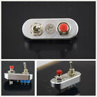 Silver CNC Motorcycle Handlebar Engine Stop Start Kill Lever Dual Switch Button