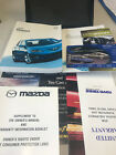 2006 MAZDA3 OWNERS MANUAL AND CASE SPORT LIMITED GT FREE SHIPPING