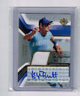 GEORGE BRETT 2004 ULTIMATE COLLECTION AUTOGRAPH GAME USED JERSEY # 6 50 KC HOF