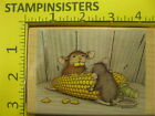 Rubber Stamp House Mouse How Corny Stampabilities Stampinsisters 510