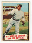 Christy Mathewson Cards and Autograph Guide 3