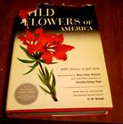 WILD FLOWERS OF AMERICA HW RICKETT PUBLISHED BY THE SMITHSONIAN INSTITUTION