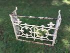 Antique Wrought Iron Window Grate, from Washington, D.C. house