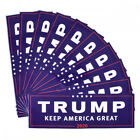 10pcs Donald Trump for President 2020 Make America Great Again Bumper Stickers C