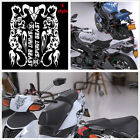 High Quality Motorcycle Tiger Flame Stripes Gas Tank Vinyl Decal Sticker E Style