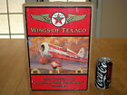WINGS OF TEXACO 1930 TRAVEL AIR MODEL R AIRPLANE DIECAST METAL COIN BANK 132