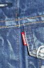 VINTAGE 1960S LEVIS BIG E TYPE III 3 DENIM JEAN TRUCKER JACKET MADE IN USA LK