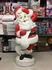Santa Blow Mold Union Products Vintage Christmas Blow mold 44 Tall Vtg Lighted