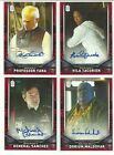 2018 Topps Doctor Who Signature Series Trading Cards 19