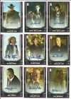 2017 Topps Doctor Who Signature Series Trading Cards 33