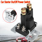 4 Pin 12V AMP 500A Car Relay Starter On Off Power Switch Dual Battery Isolator