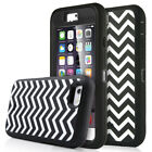 "Hybrid Shockproof Hard Rugged Wave Cover Case for Apple iPhone 6S/6 4.7"" New"