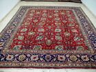 10X13 1940s MAGNIFICENT HAND KNOTTED FINE ANTIQUE 70+YRS WOOL TABRIZ PERSIAN RUG
